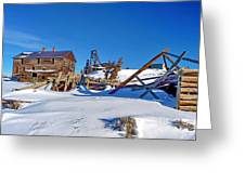 South Pass City Mine Greeting Card
