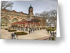 The Ellis Island Immigration Museum Greeting Card
