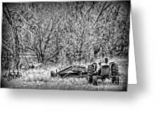 Tractor Days Greeting Card