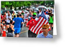 0001 Buffalo Marathon Series 2012  Greeting Card