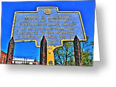 0001 Buffalo Ny History Greeting Card