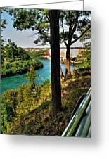 001 Niagara Gorge Trail Series  Greeting Card