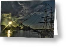 001 Uss Niagara 1813 Series Greeting Card
