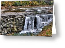 0017 Letchworth State Park Series  Greeting Card
