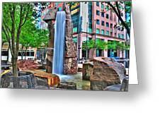 002 Fountain Plaza Greeting Card