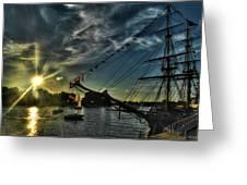 002 Uss Niagara 1813 Series  Greeting Card