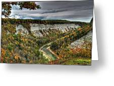 0022 Letchworth State Park Series   Greeting Card
