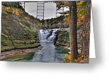 0025 Letchworth State Park Series  Greeting Card