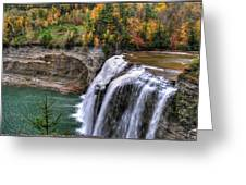 0033 Letchworth State Park Series  Greeting Card
