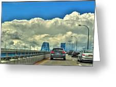 004 Grand Island Bridge Series  Greeting Card