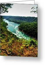 004 Niagara Gorge Trail Series  Greeting Card