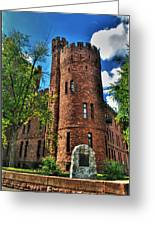 004 The 74th Regimental Armory In Buffalo New York Greeting Card