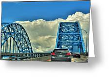 005 Grand Island Bridge Series  Greeting Card