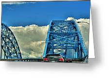 006 Grand Island Bridge Series Greeting Card