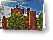 006 The 74th Regimental Armory In Buffalo New York Greeting Card