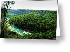 007 Niagara Gorge Trail Series  Greeting Card