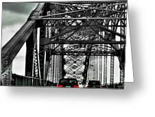 008 Grand Island Bridge Series Greeting Card