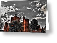 008 The 74th Regimental Armory In Buffalo New York Greeting Card