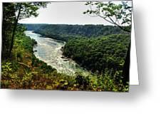 009 Niagara Gorge Trail Series  Greeting Card