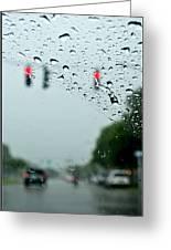 01 Crying Skies Greeting Card
