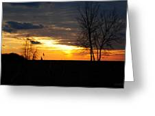 01 Sunset Greeting Card