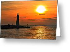 01 Sunset Series Greeting Card