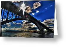 010  Peace Bridge Series II Beautiful Skies Greeting Card