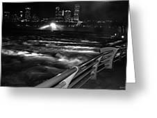 012 Niagara Falls Usa Rapids Series Greeting Card