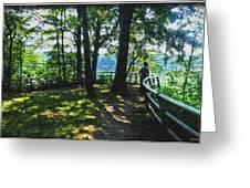 012a Niagara Gorge Trail Series  Greeting Card