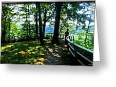 012b Niagara Gorge Trail Series  Greeting Card