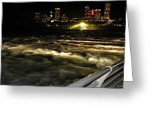 013 Niagara Falls Usa Rapids Series Greeting Card