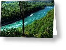 013 Niagara Gorge Trail Series  Greeting Card