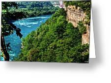 014 Niagara Gorge Trail Series  Greeting Card