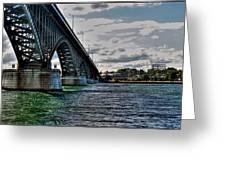014 Peace Bridge Series II Beautiful Skies Greeting Card