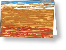 0145 Abstract Landscape Greeting Card