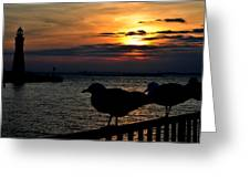 015 Sunset Series Greeting Card