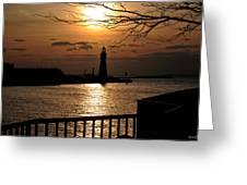 016 Sunset Series Greeting Card