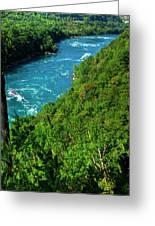 017 Niagara Gorge Trail Series  Greeting Card