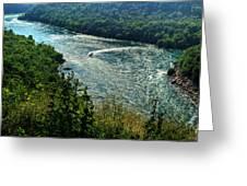 018 Niagara Gorge Trail Series  Greeting Card