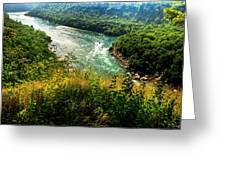 019 Niagara Gorge Trail Series  Greeting Card