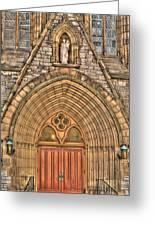 02 Church Doors Greeting Card