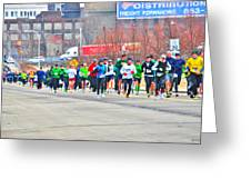 020 Shamrock Run Series Greeting Card