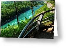 021 Niagara Gorge Trail Series  Greeting Card