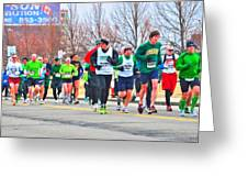 021 Shamrock Run Series Greeting Card