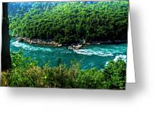 022 Niagara Gorge Trail Series  Greeting Card