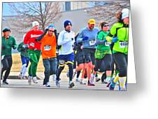 022 Shamrock Run Series Greeting Card