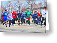 028 Shamrock Run Series Greeting Card