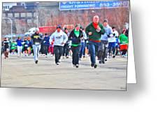 032 Shamrock Run Series Greeting Card