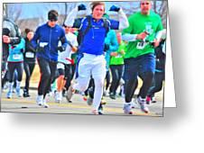 033 Shamrock Run Series Greeting Card