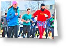 034 Shamrock Run Series Greeting Card